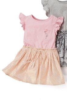 Next Flamingo Dress (3mths-6yrs)
