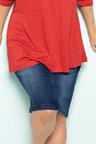 Plus Size - Sara Denim Skirt
