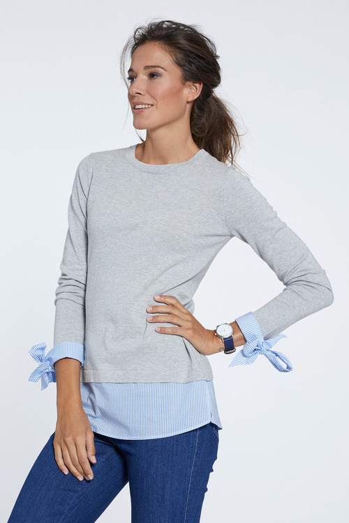 Heine Fake Layer Sweater