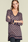 Heine Patterned Knit Tunic