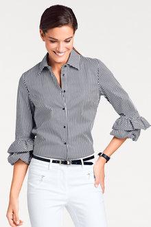 Heine Ruffle Sleeve Shirt