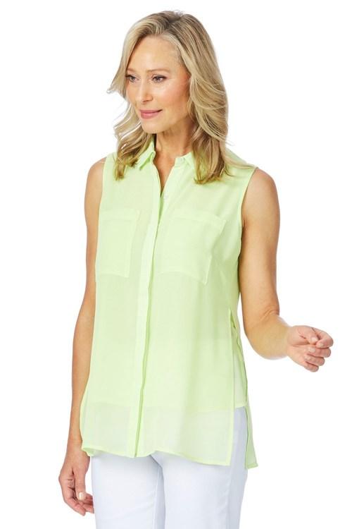 W.Lane Double Layer Longline Shirt