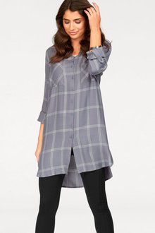 Urban Long Line Check Shirt