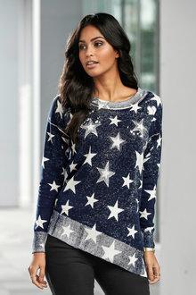 Urban Star Asymmetric Sweater