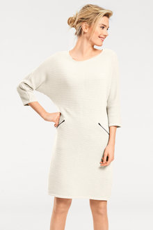 Heine Zip Pocket Knit Dress