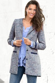 Heine Longline Boucle Jacket