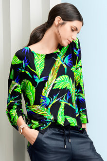 Heine Tropical Print Top