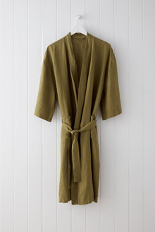 Hampton Linen Bathrobe - 200118
