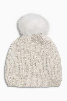 Next Chenille Pom Hat - 200290
