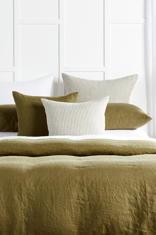 Hampton Stripe Linen Cushion
