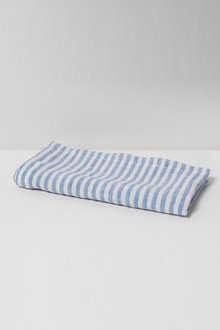 Hampton Stripe Linen Napkin Set of Four - 200555