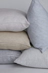 Hampton Stripe Linen Pillowcase Pair