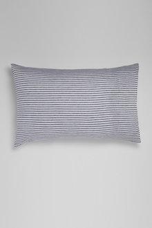 Hampton Stripe Linen Pillowcase Pair