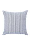 Hampton Stripe Linen Euro Pillowcase Pair