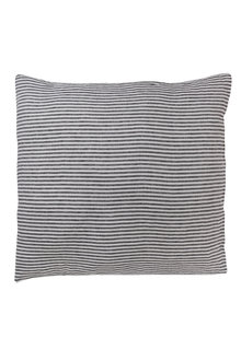 Hampton Stripe Linen Euro Pillowcase Pair - 200557