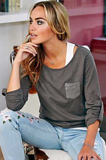 Urban Cotton Two-in-One Top - 200558