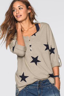 Urban Star Print Top
