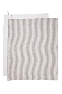 Hampton Linen Tea Towel Set of Two