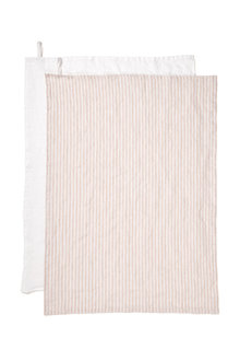 Hampton Linen Tea Towel Set of Two - 200562