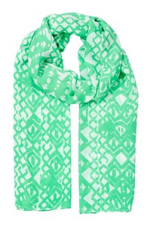W.Lane Diamond Print Scarf