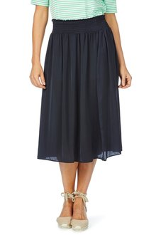 W.Lane Rouched Waist Skirt