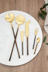 Burnished Pickle Fork Set of Two