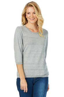 Noni B Ivanka Self Design Knit - 200622
