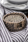 Rattan Coasters Set of Four