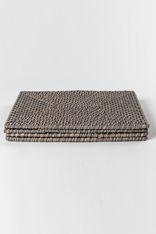Rattan Placemats Set of Four