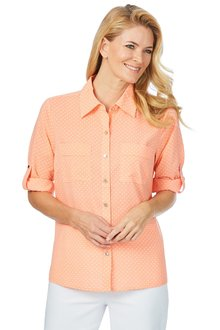 Noni B Sally Spot Shirt - 200650