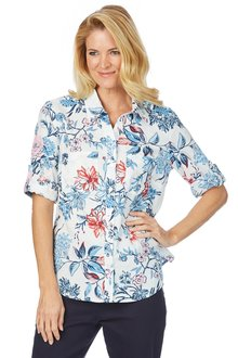 Noni B Taren Printed Shirt - 200651