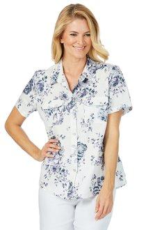 Noni B Petal Linen Shirt