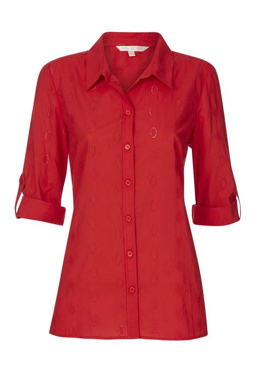 Noni B Anna Self Design Shirt