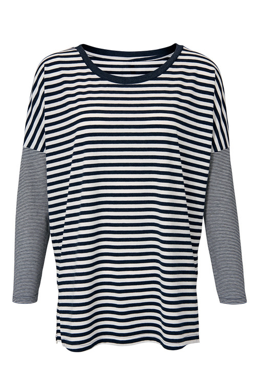 Heine Oversized Striped Top