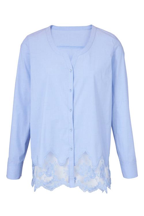 Heine Lace Hem Shirt