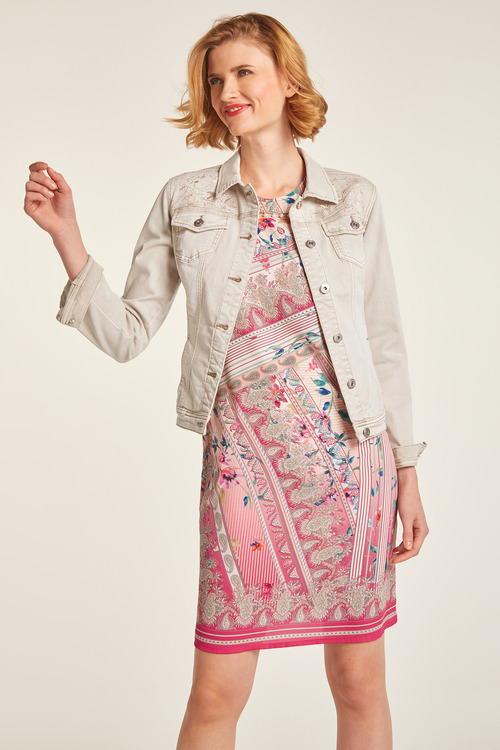 Heine Embroidered Denim Jacket