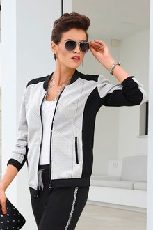 Euro Edit Textured Jacket
