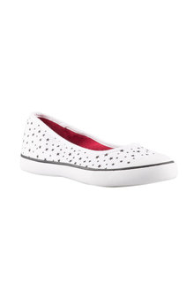 Wide Fit Mimi Stars Slip On Sneaker