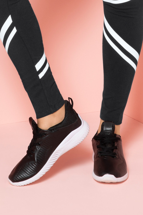 Wide Fit Salma Lace Up Sneaker