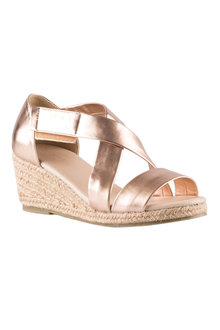 Shelby Wedge Sandal Heel