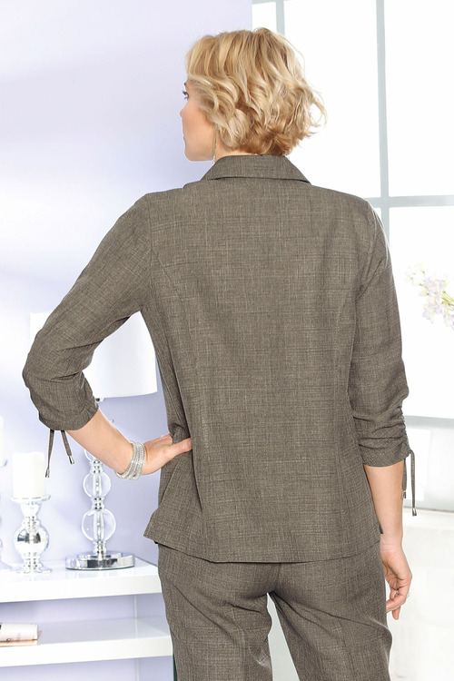 Capture European Linen Blazer