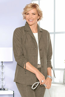 Capture European Linen Blazer - 200857