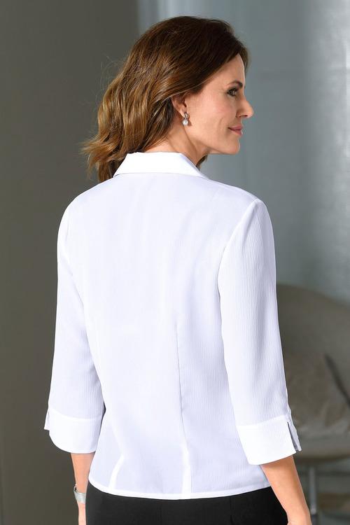 Capture European Lace Trim Shirt