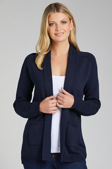 Capture European Shawl Collar Cardigan