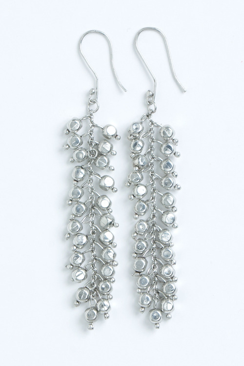 Cluster Drop Earrings