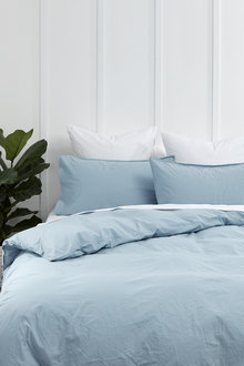 Washed Cotton Duvet Cover Set - 200924