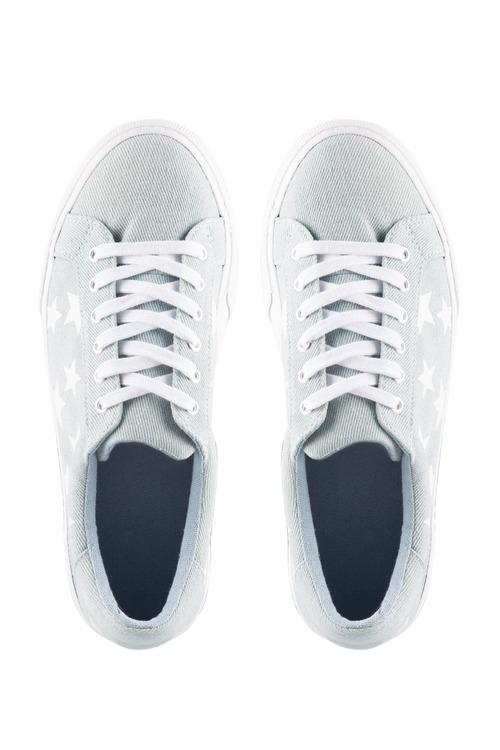 Wide Fit Jimmy Star Sneaker