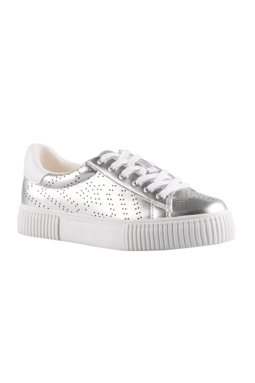 Emerge Juliet Cutout Lace-Up Sneaker