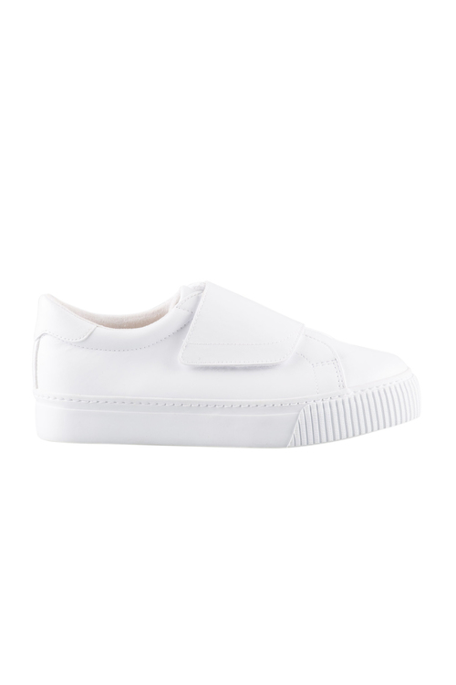 Wide Fit Kalina Rip Tape Flatform Sneaker