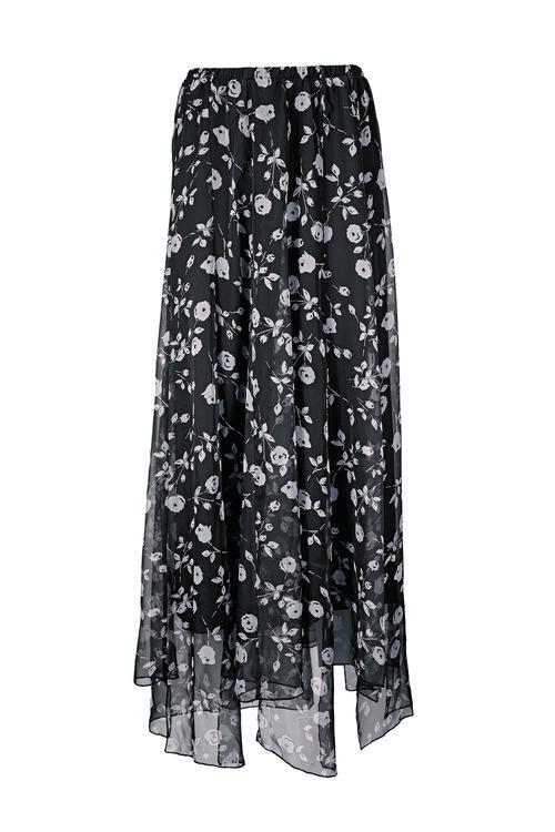 Heine Floral Printed Skirt